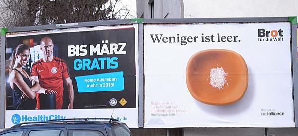 Bad Godesberg - Plakatverschwörung