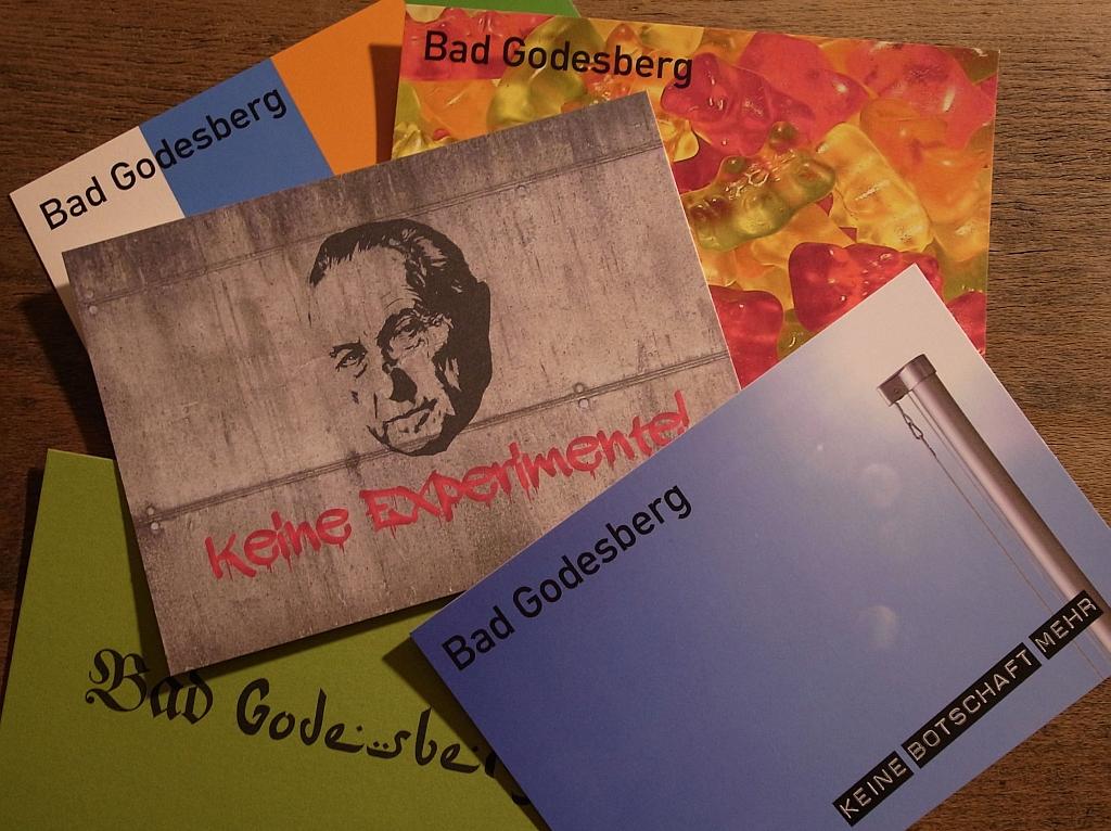 BadGod-Postkarten-Kollektion